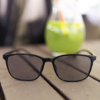 Kép 4/4 - iCube Retron fekete - Fényre sötétedő - Monitor szemüveg