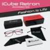 Obraz 2/4 - iCube Retron rózsaszín - Monitor szemüveg tartozékok