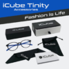Obraz 2/4 - iCube Tinity kék - Monitor szemüveg tartozékok