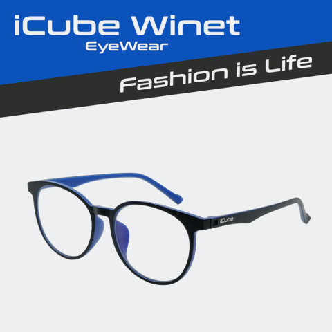 iCube Winet - Blue - Kékfény szűrő Monitor szemüveg - Gamer szemüveg